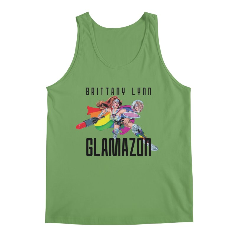 Glamazon Men's Tank by BRITTANY LYNN AND HER DRAG MAFIA