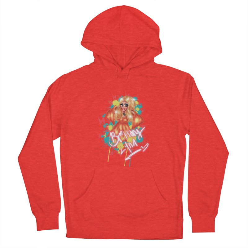Pretty Brittany Men's Pullover Hoody by BRITTANY LYNN AND HER DRAG MAFIA