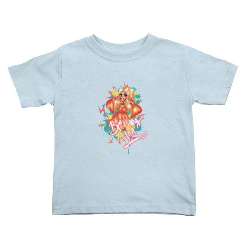 Pretty Brittany Kids Toddler T-Shirt by BRITTANY LYNN AND HER DRAG MAFIA