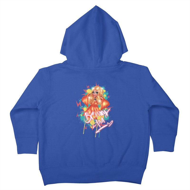 Pretty Brittany Kids Toddler Zip-Up Hoody by BRITTANY LYNN AND HER DRAG MAFIA