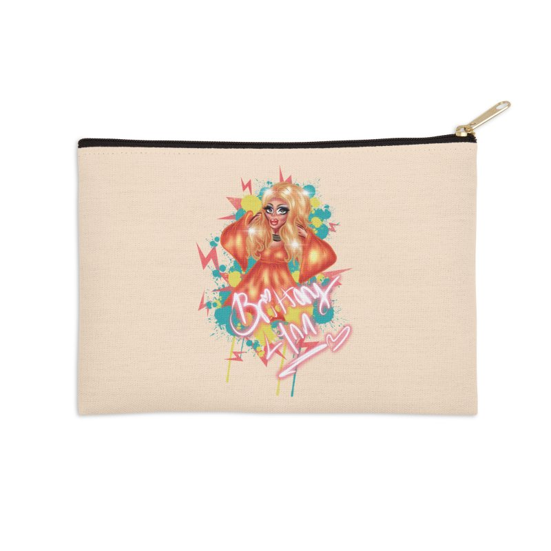 Pretty Brittany Accessories Zip Pouch by BRITTANY LYNN AND HER DRAG MAFIA