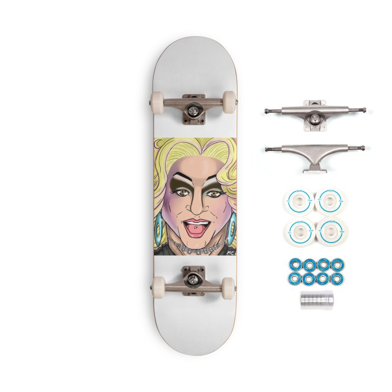 Wham, Bam-Here's Britt Ma'am! Accessories Skateboard by BRITTANY LYNN AND THE PHILLY DRAG MAFIA