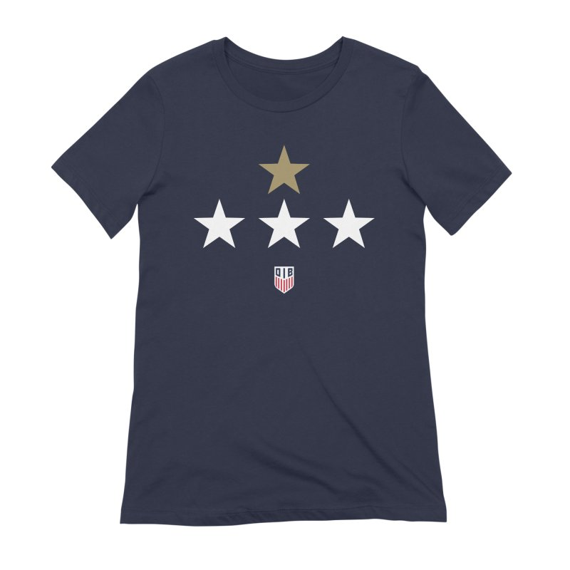 4-STARS Women's Extra Soft T-Shirt by THE DUDES IN BLUE SHOP