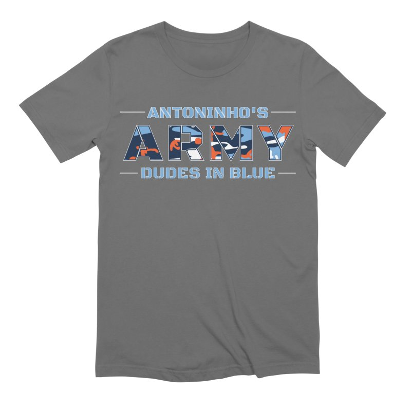 ANTONINHO'S ARMY Men's Extra Soft T-Shirt by THE DUDES IN BLUE SHOP