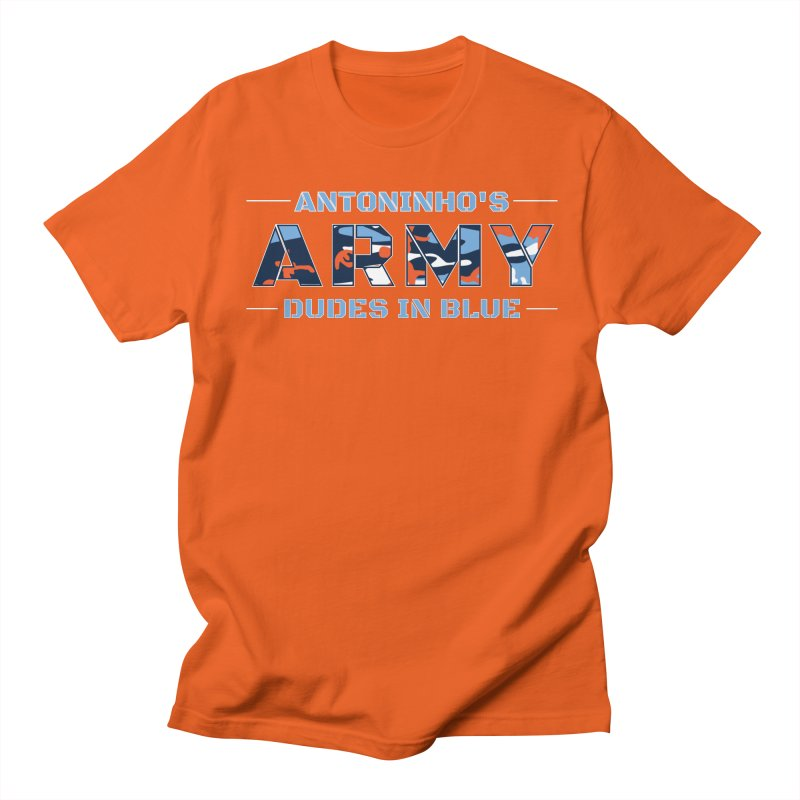 ANTONINHO'S ARMY Men's Regular T-Shirt by THE DUDES IN BLUE SHOP