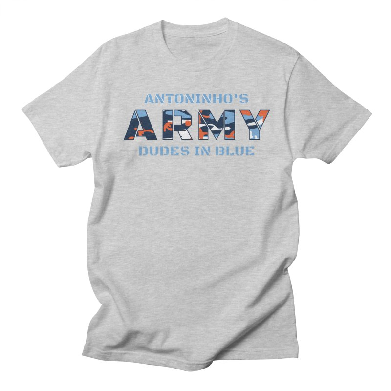 ANTONINHO'S ARMY Men's Regular T-Shirt by THE DUDES IN BLUE SHOP