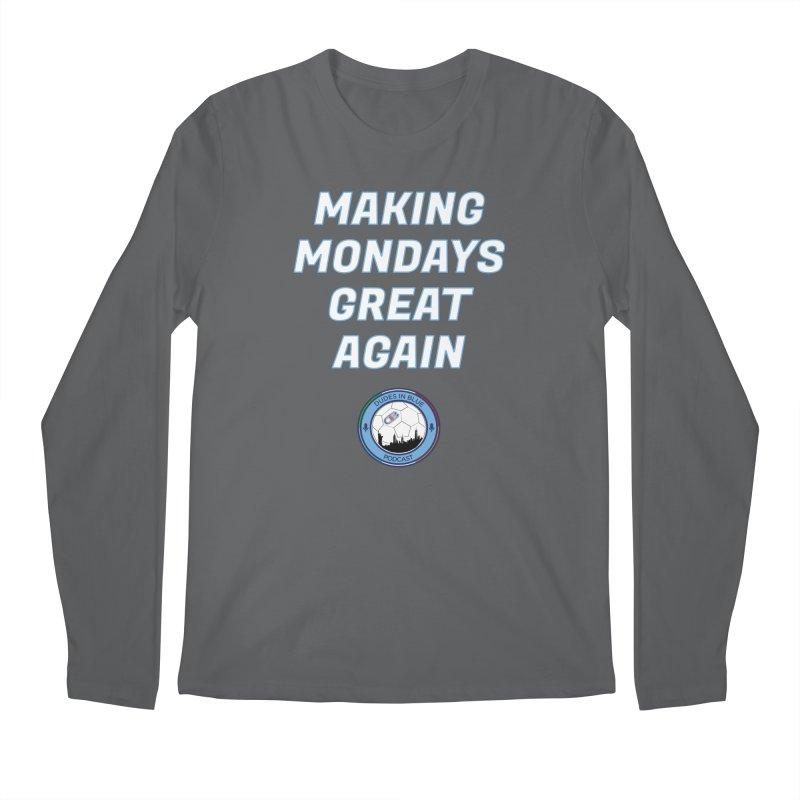 MONDAY BLUES Men's Longsleeve T-Shirt by THE DUDES IN BLUE SHOP