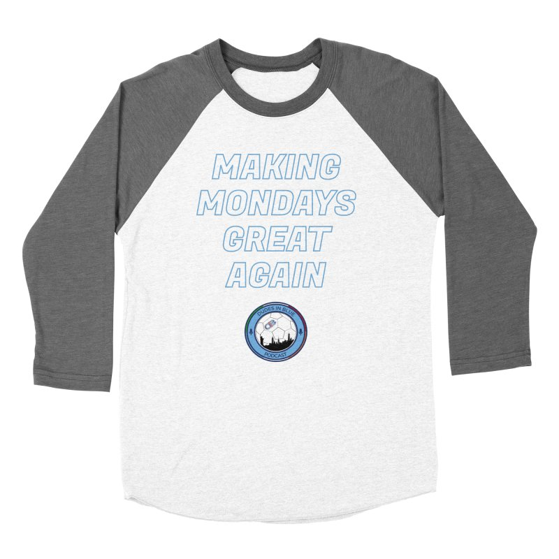MONDAY BLUES Women's Longsleeve T-Shirt by THE DUDES IN BLUE SHOP