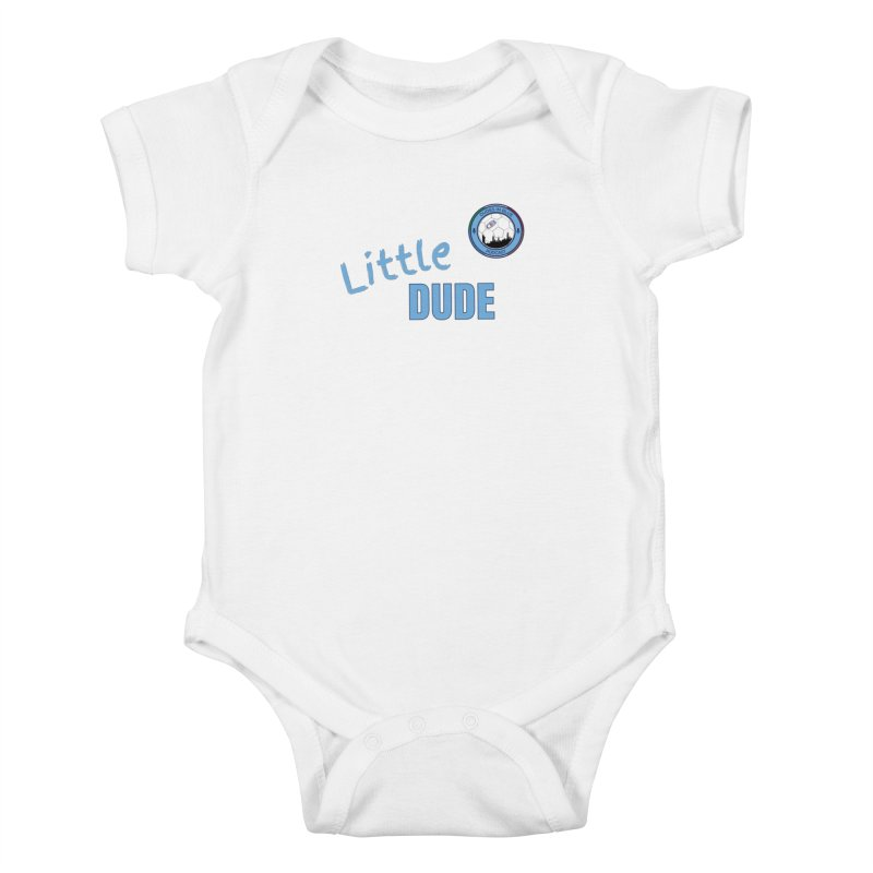 LIL DUDE! Kids Baby Bodysuit by THE DUDES IN BLUE SHOP