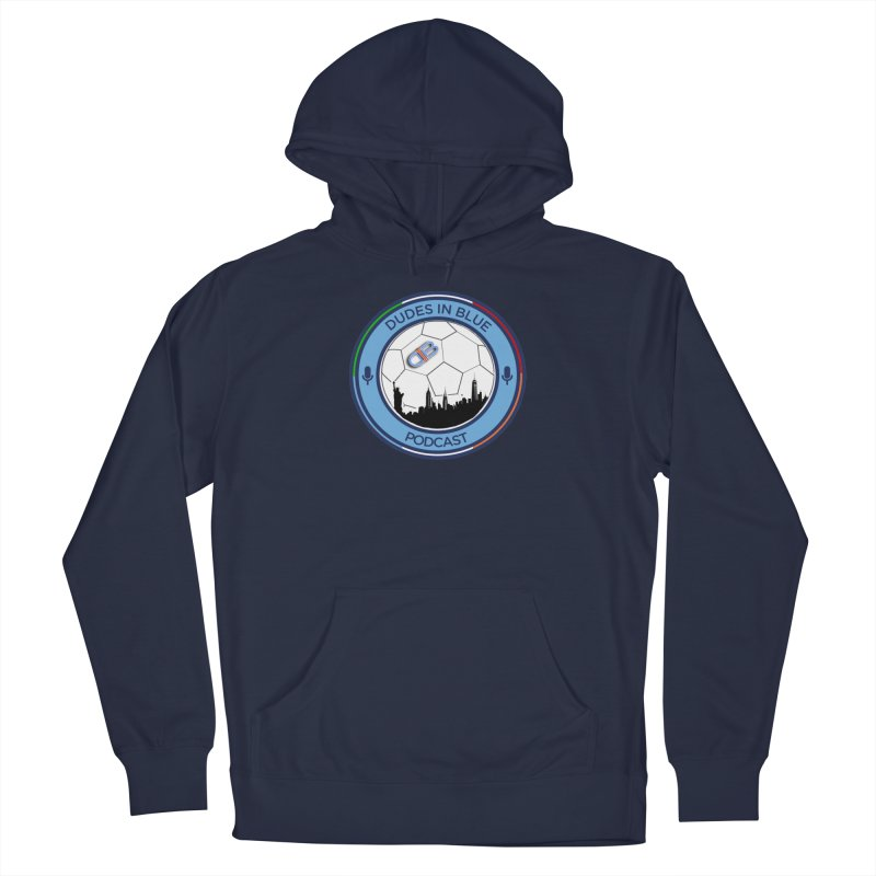 DUDES IN BLUE Men's Pullover Hoody by THE DUDES IN BLUE SHOP