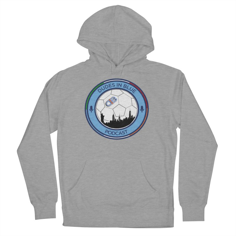 DUDES IN BLUE Women's French Terry Pullover Hoody by THE DUDES IN BLUE SHOP