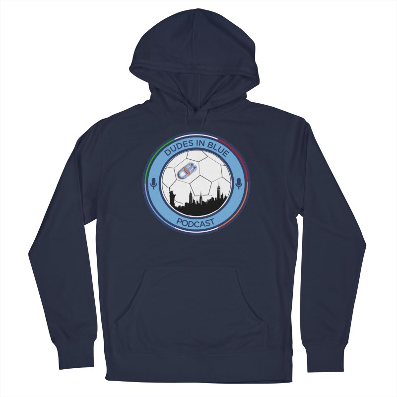DUDES IN BLUE Men's French Terry Pullover Hoody by THE DUDES IN BLUE SHOP