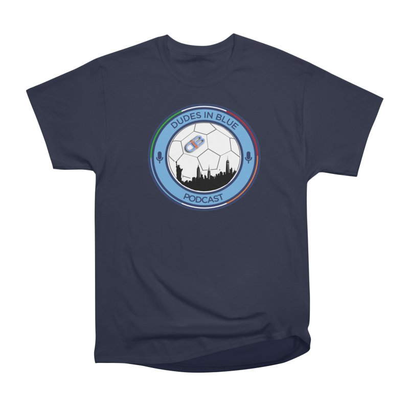 DUDES IN BLUE Men's Heavyweight T-Shirt by THE DUDES IN BLUE SHOP