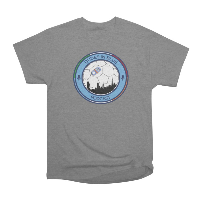 DUDES IN BLUE Women's Heavyweight Unisex T-Shirt by THE DUDES IN BLUE SHOP