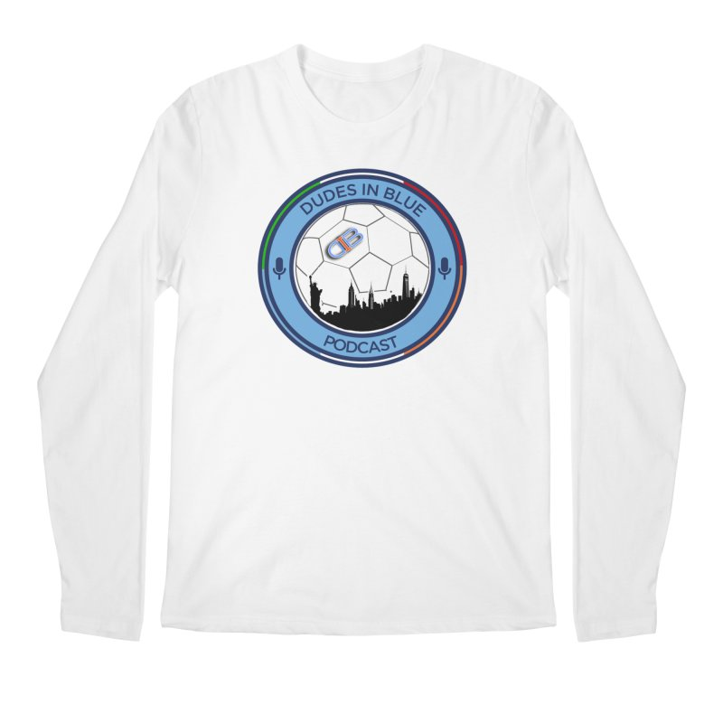 DUDES IN BLUE Men's Regular Longsleeve T-Shirt by THE DUDES IN BLUE SHOP