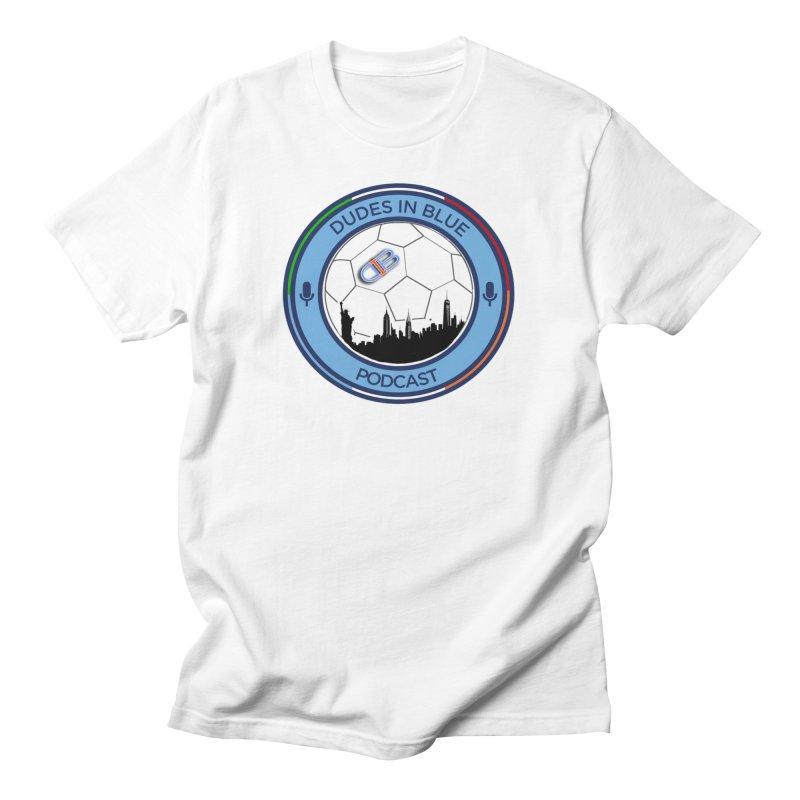 DUDES IN BLUE Men's T-Shirt by THE DUDES IN BLUE SHOP