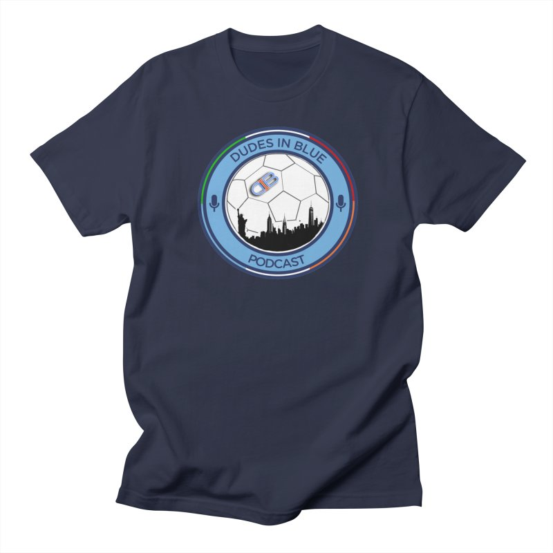 DUDES IN BLUE Men's T-Shirt by THE DUDES IN BLUE SHOP