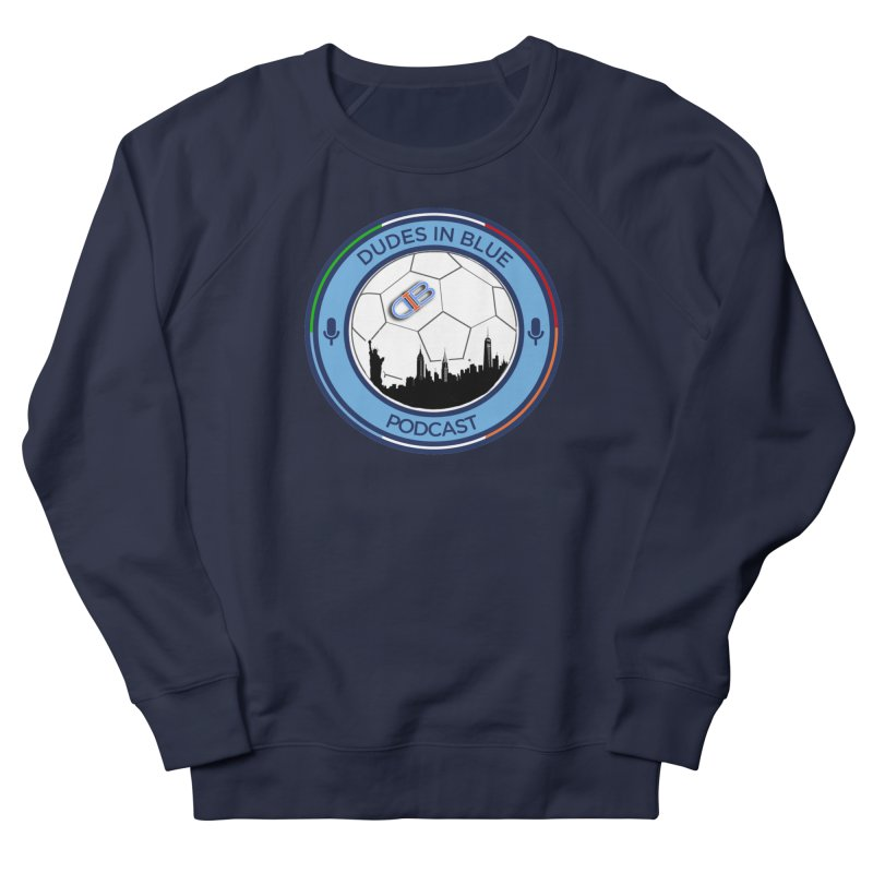 DUDES IN BLUE Women's French Terry Sweatshirt by THE DUDES IN BLUE SHOP