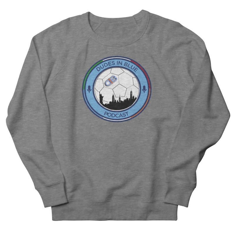 DUDES IN BLUE Men's French Terry Sweatshirt by THE DUDES IN BLUE SHOP
