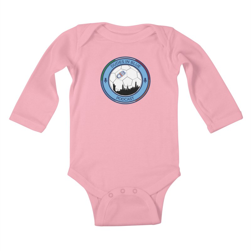 DUDES IN BLUE Kids Baby Longsleeve Bodysuit by THE DUDES IN BLUE SHOP