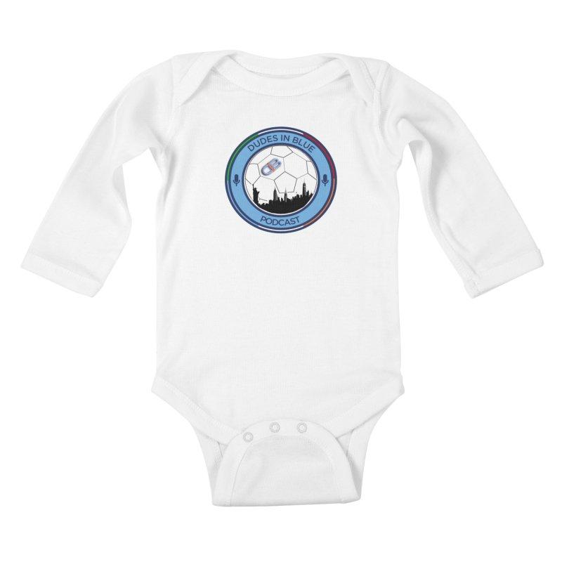 DUDES IN BLUE Kids Baby Longsleeve Bodysuit by THE DUDES IN BLUE SHOP