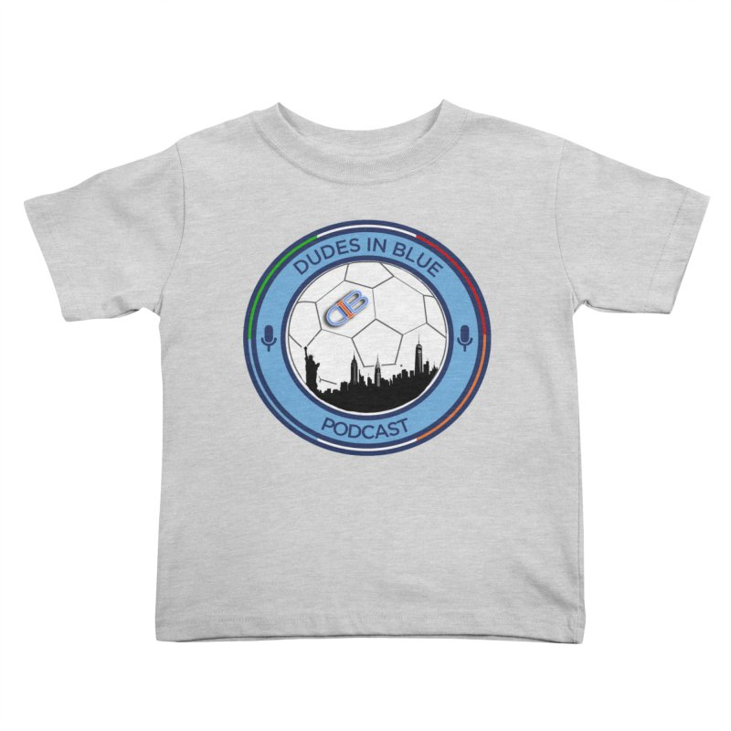 DUDES IN BLUE Kids Toddler T-Shirt by THE DUDES IN BLUE SHOP