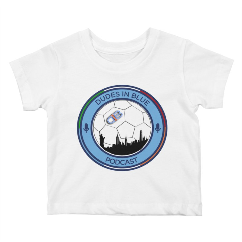 DUDES IN BLUE Kids Baby T-Shirt by THE DUDES IN BLUE SHOP