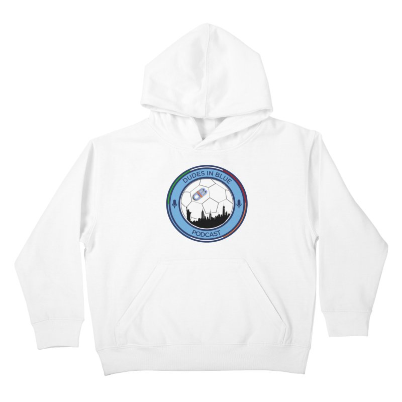 DUDES IN BLUE Kids Pullover Hoody by THE DUDES IN BLUE SHOP