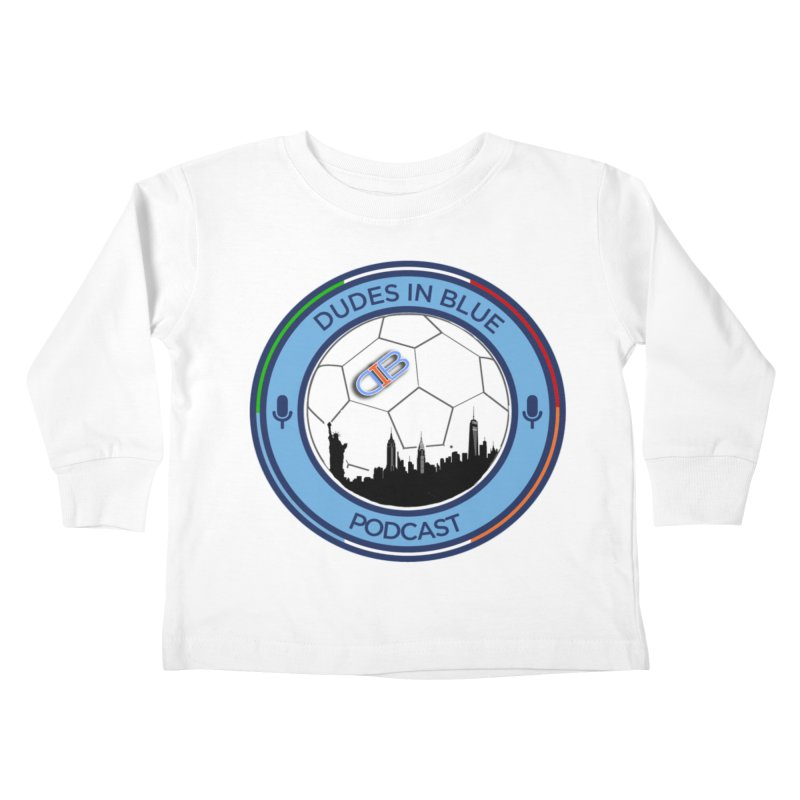 DUDES IN BLUE Kids Toddler Longsleeve T-Shirt by THE DUDES IN BLUE SHOP