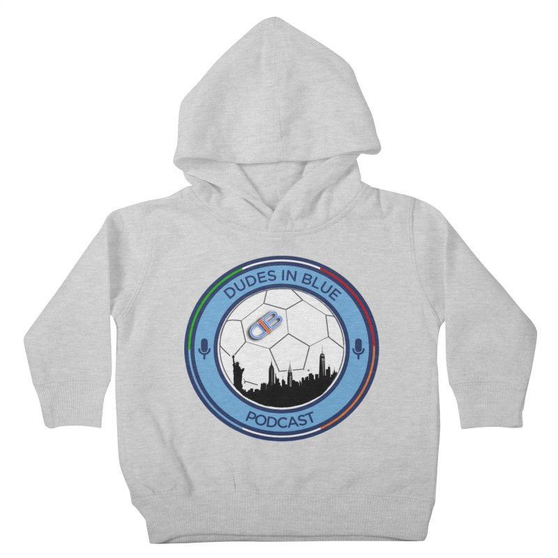DUDES IN BLUE Kids Toddler Pullover Hoody by THE DUDES IN BLUE SHOP