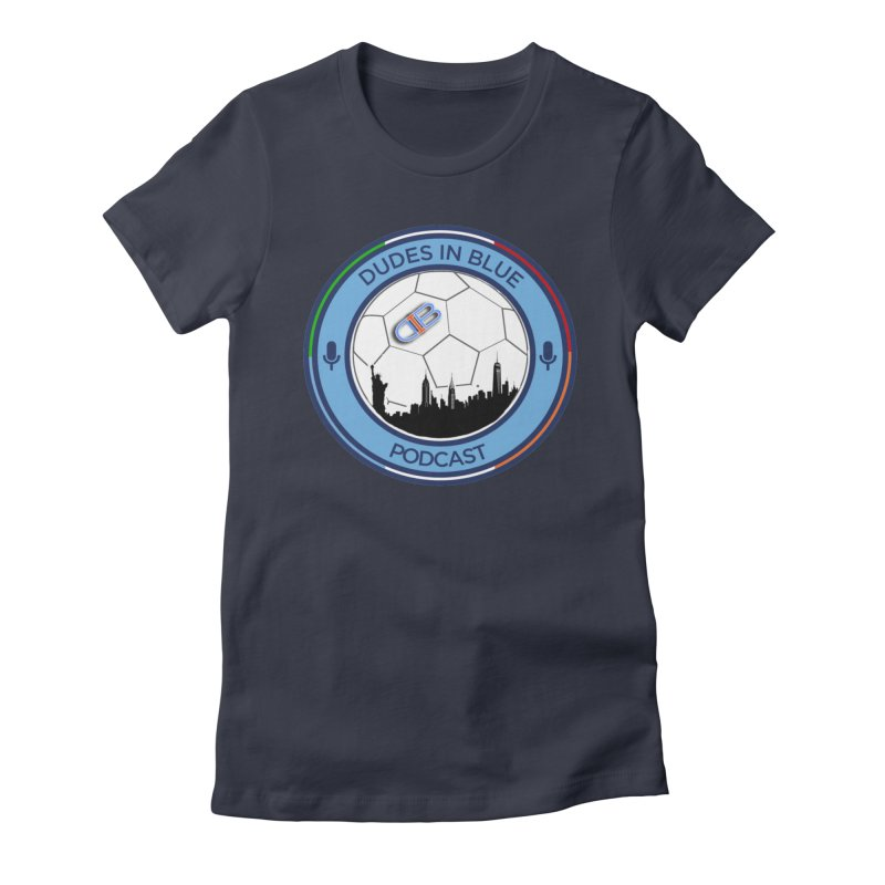 DUDES IN BLUE Women's T-Shirt by THE DUDES IN BLUE SHOP