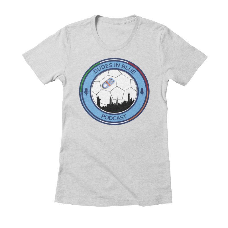 DUDES IN BLUE Women's Fitted T-Shirt by THE DUDES IN BLUE SHOP