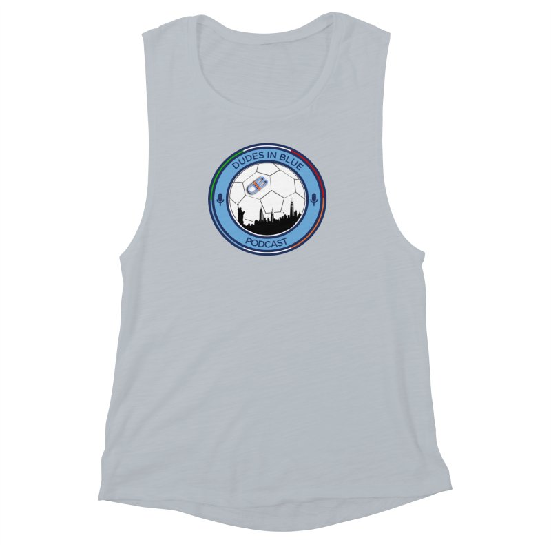 DUDES IN BLUE Women's Muscle Tank by THE DUDES IN BLUE SHOP