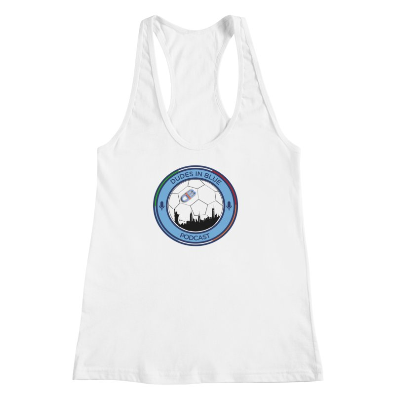 DUDES IN BLUE Women's Racerback Tank by THE DUDES IN BLUE SHOP