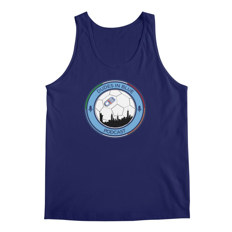 DUDES IN BLUE Men's Regular Tank by THE DUDES IN BLUE SHOP