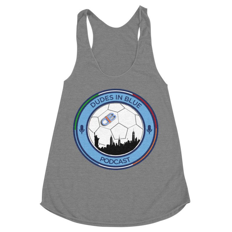 DUDES IN BLUE Women's Racerback Triblend Tank by THE DUDES IN BLUE SHOP