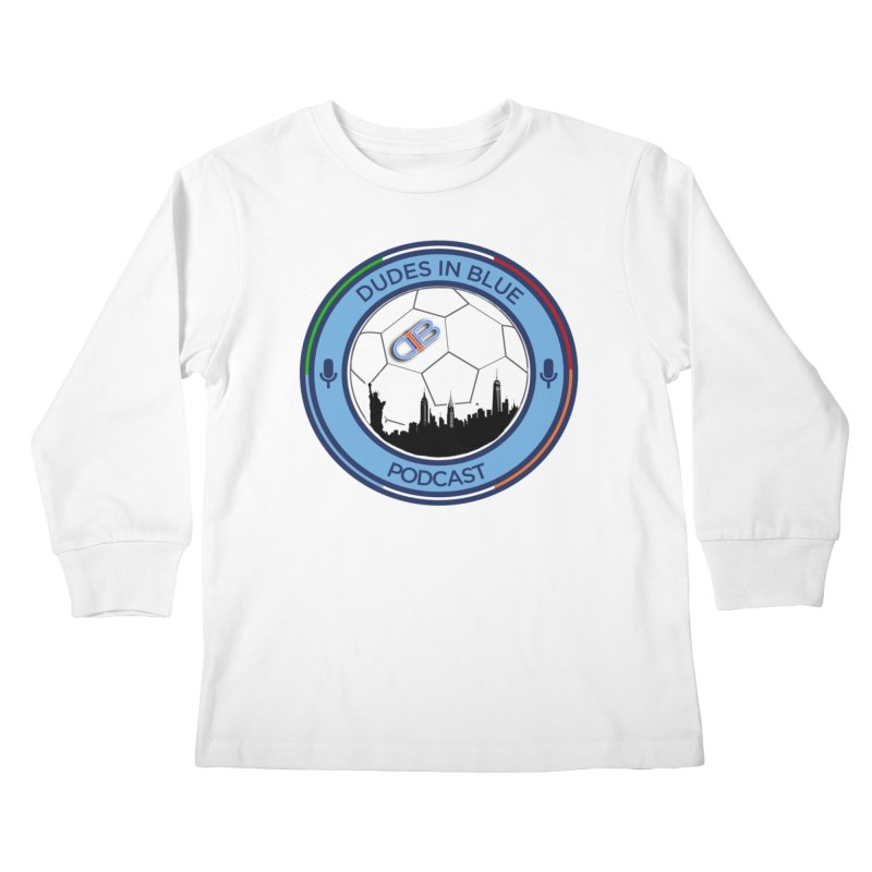 DUDES IN BLUE Kids Longsleeve T-Shirt by THE DUDES IN BLUE SHOP