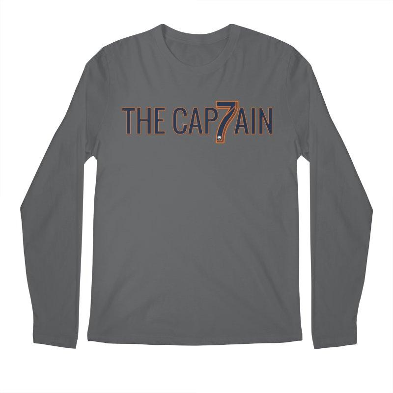 OH CAPTAIN, MY CAPTAIN! Men's Regular Longsleeve T-Shirt by THE DUDES IN BLUE SHOP