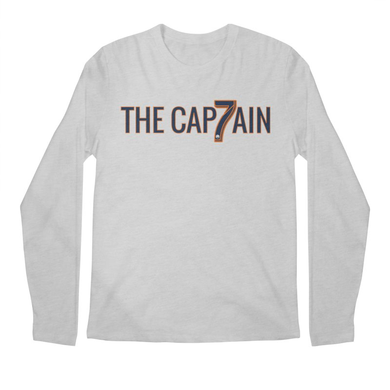 OH CAPTAIN, MY CAPTAIN! Men's Regular Longsleeve T-Shirt by THE DUDES IN BLUE SHOP