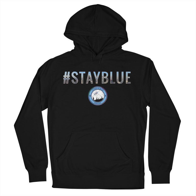 #STAYBLUE Men's Pullover Hoody by THE DUDES IN BLUE SHOP