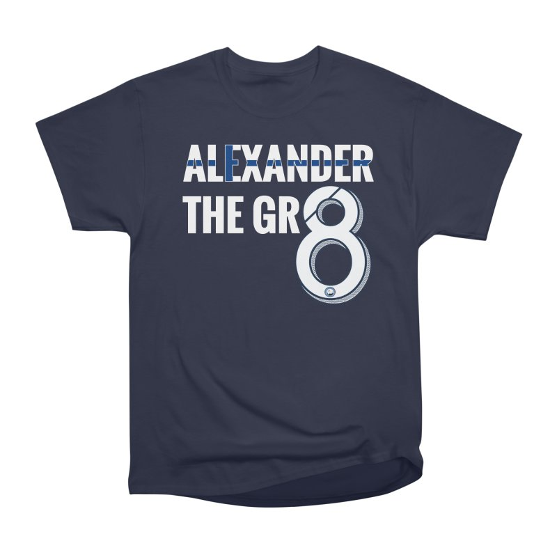 ALEXANDER THE GR8! Men's Heavyweight T-Shirt by THE DUDES IN BLUE SHOP