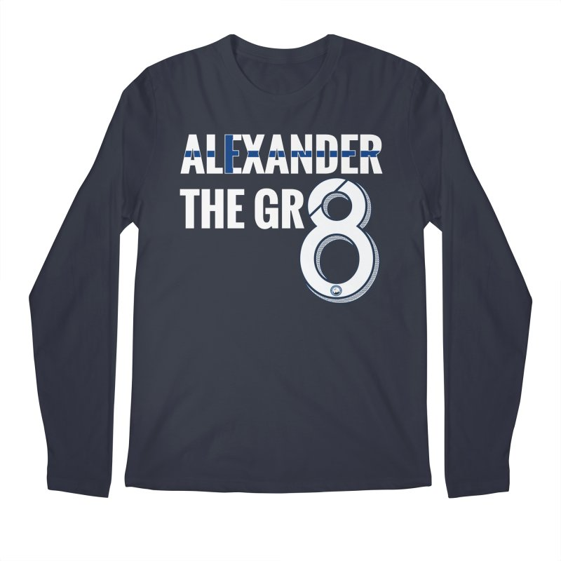 ALEXANDER THE GR8! Men's Regular Longsleeve T-Shirt by THE DUDES IN BLUE SHOP