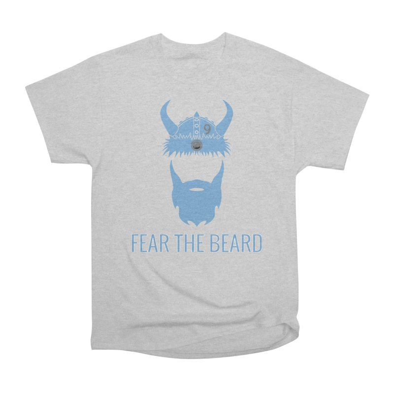 FEAR THE BEARD! Men's Heavyweight T-Shirt by THE DUDES IN BLUE SHOP