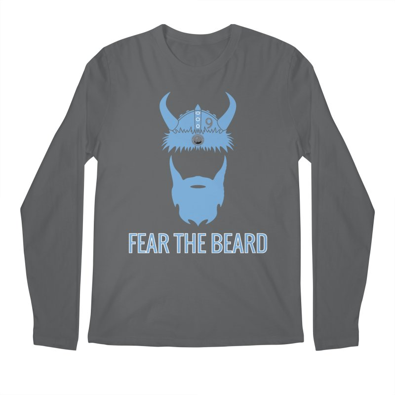 FEAR THE BEARD! Men's Regular Longsleeve T-Shirt by THE DUDES IN BLUE SHOP