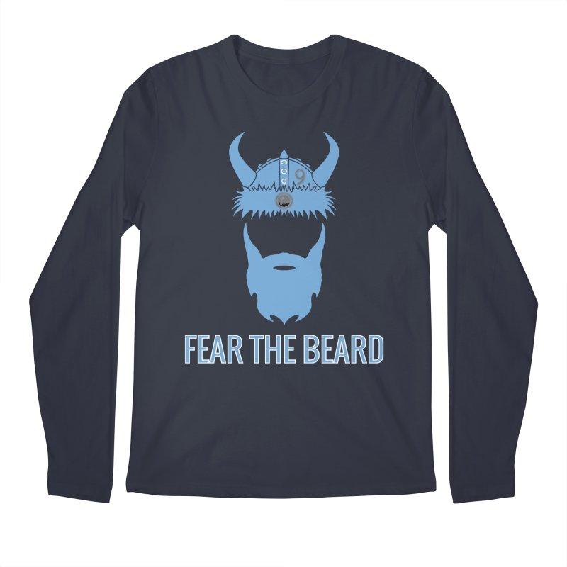 FEAR THE BEARD! Men's Regular Longsleeve T-Shirt by THE DUDES IN BLUE SHOP