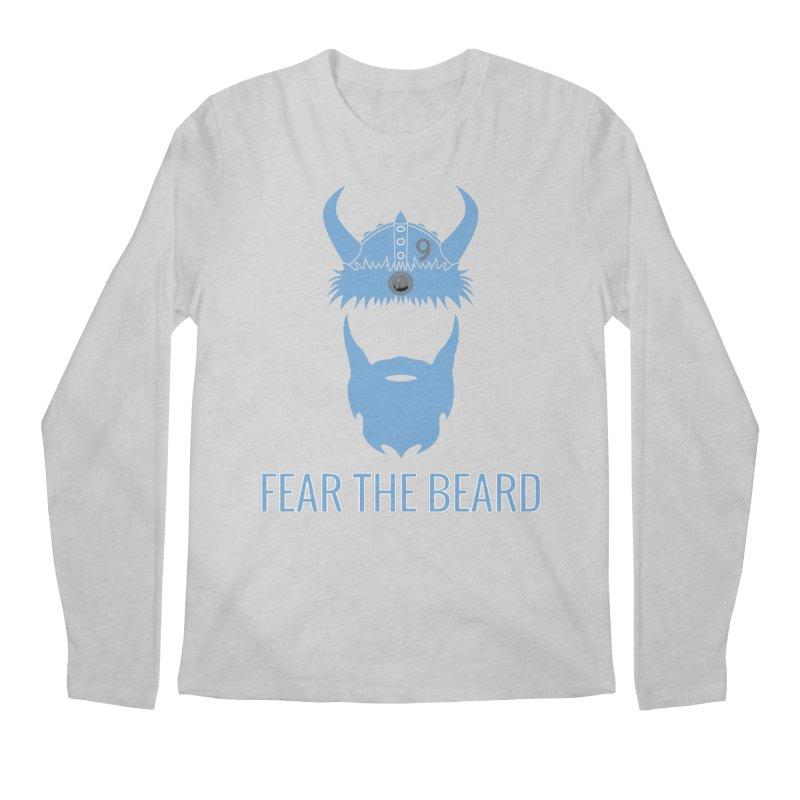 FEAR THE BEARD! Men's Longsleeve T-Shirt by THE DUDES IN BLUE SHOP