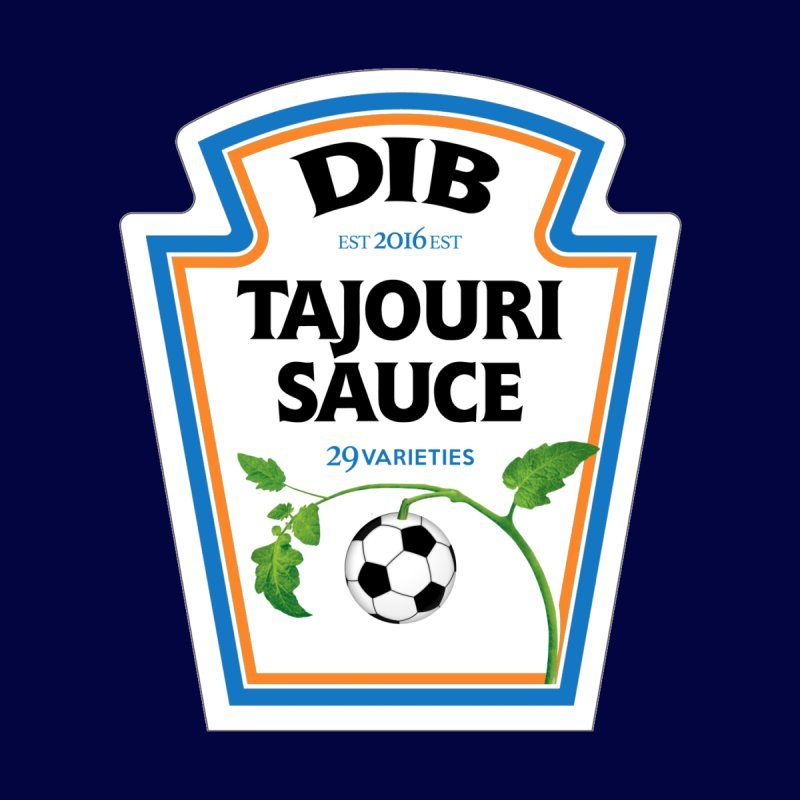 TAJOURI SAUCE! by THE DUDES IN BLUE SHOP