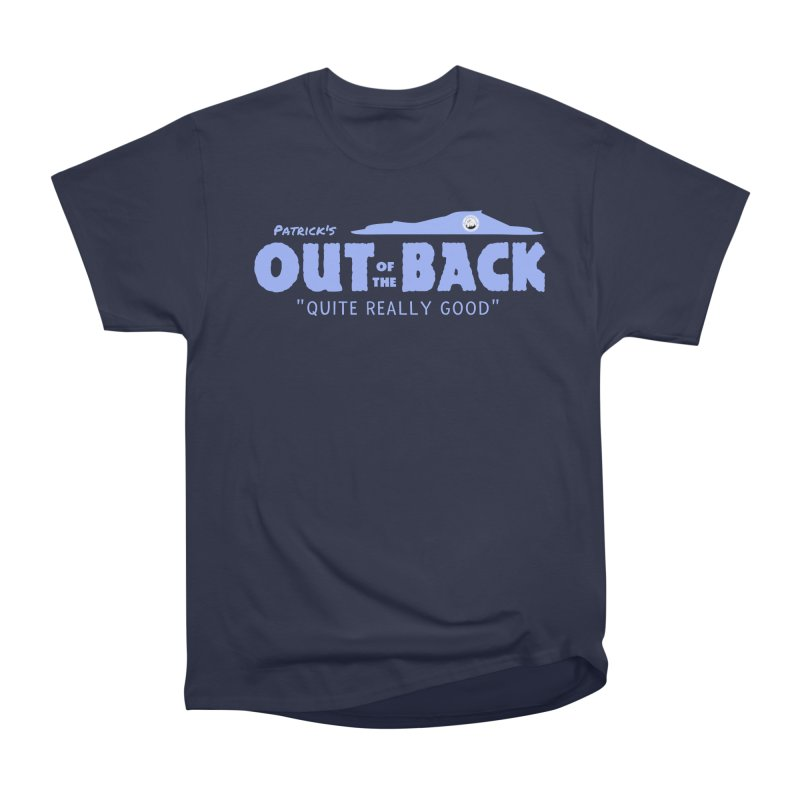 THE GAFFER! in Men's Heavyweight T-Shirt Navy by THE DUDES IN BLUE SHOP