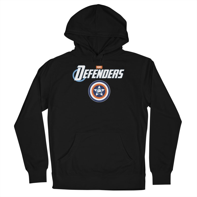D-FENCE! Women's French Terry Pullover Hoody by THE DUDES IN BLUE SHOP