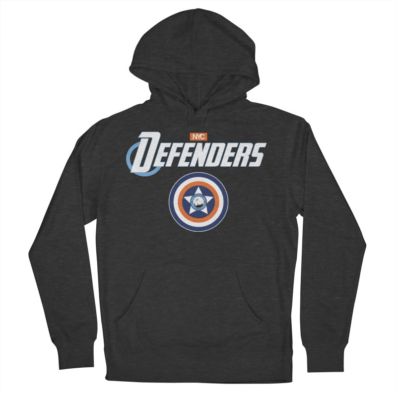 D-FENCE! Men's French Terry Pullover Hoody by THE DUDES IN BLUE SHOP
